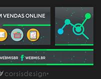 Capa e Perfil para Redes Sociais Webmis