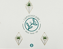 L' Apothicaire: Logo and Brand Identity Stylescape