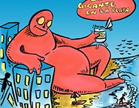 el gigante en la playa / the giant on the beach.