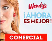 Comercial WENDY´S