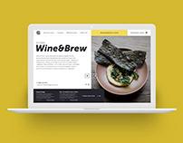 Gastrobar web design