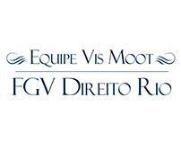 Estudo de Logotipos - Equipe Vis Moot (FGV Rio)