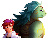 Milo - Character Design