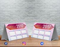 Calendário de mesa