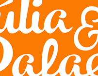 J Ú L I A e R A F A E L A • logo