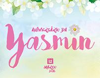 Aniversário da Yasmin #1aninho