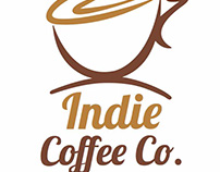Logo Indie Coffe Co.