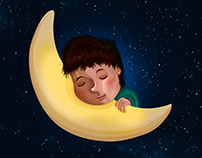Sleeping child | ILLUSTRATION