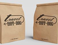 Logotipo Travel hot dogs