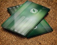 Business Card Blur