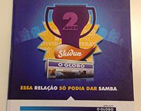 Book comemorativo pelos dois anos do cliente O Globo