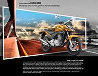 Propaganda Honda CBR300