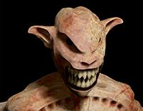 Personagem 3D: Criatura