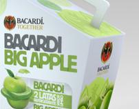 Logo + Package Bacardi Big Apple