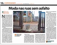Edição e reportagem para jornal impresso ENFOQUE