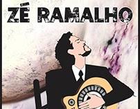 """ARTE: DESENHO DE ZÉ RAMALHO """"ANTOLÓGICO"""""""