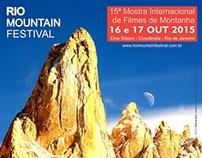 Rio Mountain Festival 2015 - Identidade Visual