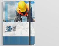 Identide Visual - Barra Forte Obras Personalizadas