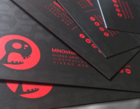 Graphic Design Project | MNOstudios VISITING CARDS