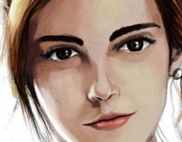 Emma Watson arte digital