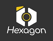 Hexagon Social Media