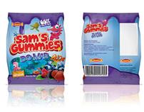 Embalagem Sams Gummies