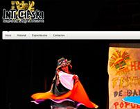 Website de grupo de Danza Intichaski - Portugal