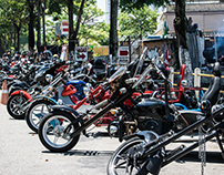 II Encontro Trike Garagem