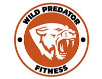 Diseño de isologo y aplicaciones Wild Predator Fitness.