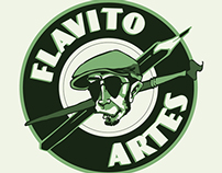 Identidade Visual Flavito Artes