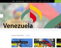 Site Oficial Luces para Venezuela
