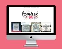 WEB DESIGN: PROVÉRBIOS 31 EM CONSTRUÇÃO