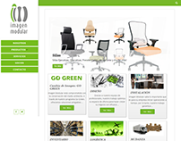 Imagen Modular, Sitio Web en Wordpress