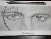 Dibujando Famosos ~ Realismo Johnny Depp