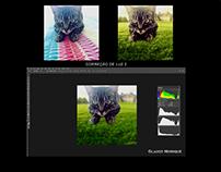 Correção de Luz / Background - Photoshop