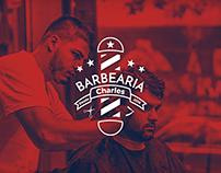 Barbearia Charles / Barber Shop Charles - Logo Design