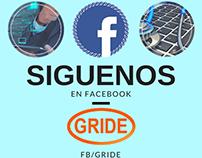 Servicios publicitarios, Redes Sociales y mailing-Gride