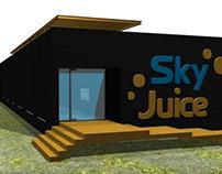 Diseño Arquitectónico 3D - Café Restaurante Sky Juice