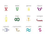 zodiaco con tipo