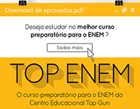 Preparatory course advertisement