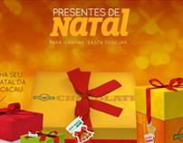 HotSite  |  Brasil Cacau - Natal 2012