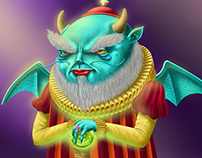 Character Design/Diseño de Personaje - Diablillo