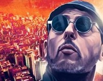 Leon The Professional- Movie Poster- Illustration