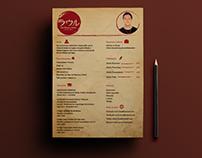 Mockup de CV
