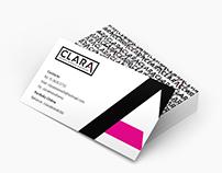 Tarjetas marca CLARA