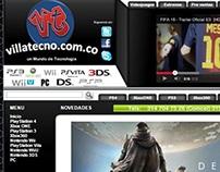 Sitio WEB Villatecno