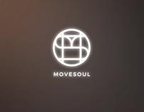 Movesoul logo animation. INTRO.