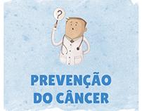 Infográfico - Prevenção do câncer