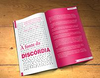 Projeto Tipográfico: A Fonte da Discórdia