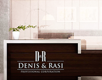 Logo and Visual Identity - Denis & Rasi Law Firm